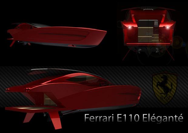 Ferrari E110 Eléganté se inspira na Ferrari 458 (Foto: Divulgação)