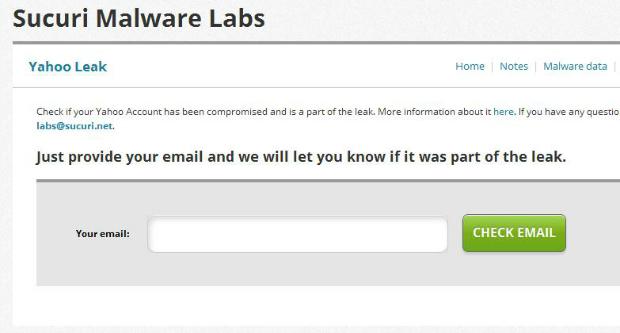 Sucuri pode descobrir se dados de seu e-mail caíram na rede (Foto: Reprodução)