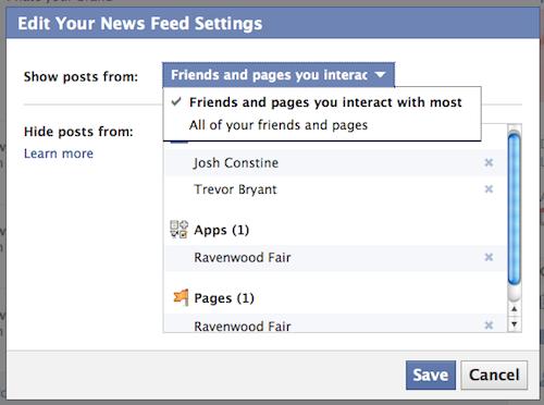 Feed do Facebook está ganhando cada vez mais novidades (Foto: Reprodução)