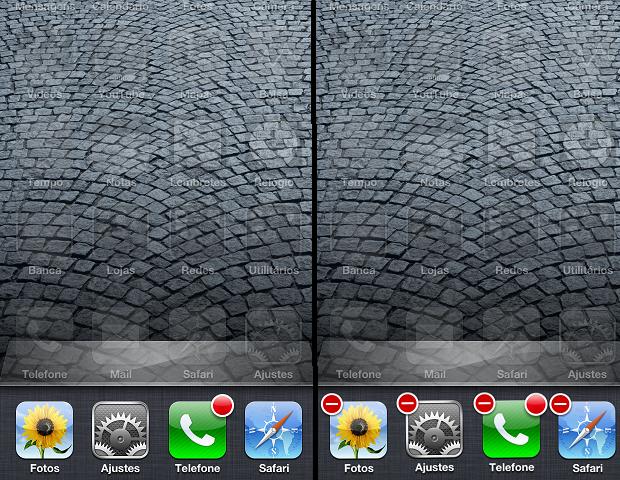 Fechando apps na barra de multitarefa (Foto: Reprodução/Edivaldo Brito)