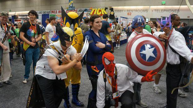 Confira o primeiro dia de cosplays da San Diego Comic-Con 2012 (Foto: Destructoid)
