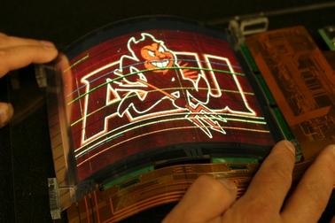 OLED flexível será produzido em massa pela LG (Foto: Reprodução)
