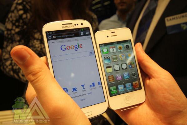 Galaxy S3 é a grande aposta da Samsung na luta contra a Apple (Foto: Reprodução) (Foto: Galaxy S3 é a grande aposta da Samsung na luta contra a Apple (Foto: Reprodução))