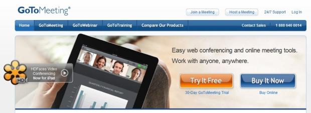 GoToMeeting é para quem quer ser profissional sem gastar muito (Foto: Reprodução)