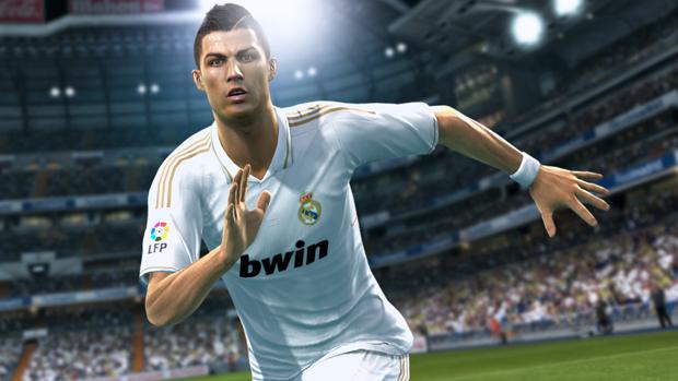 Cristiano Ronaldo em PES 2013 (Foto: Divulgação)