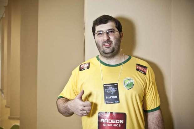 O brasileiro Levin, terceiro colocado no torneio (Foto: Divulgação)