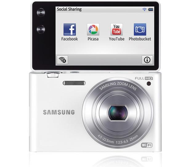 MV900F é a nova compacta da Samsung (Foto: Reprodução)