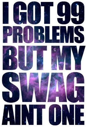 Tenho 99 problemas, mas meu estilo não é um: referência à música de Jay-Z (Foto: Reprodução)