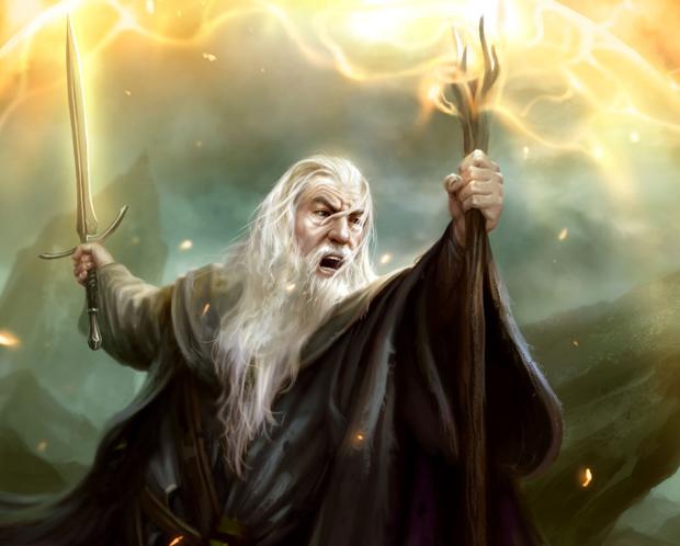 Gandalf maraca presença no jogo com suas poderosas magias (Foto: Divulgação)