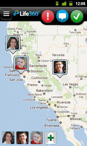 Life 360, para monitorar o seu smartphone com Android (Foto: Divulgação)