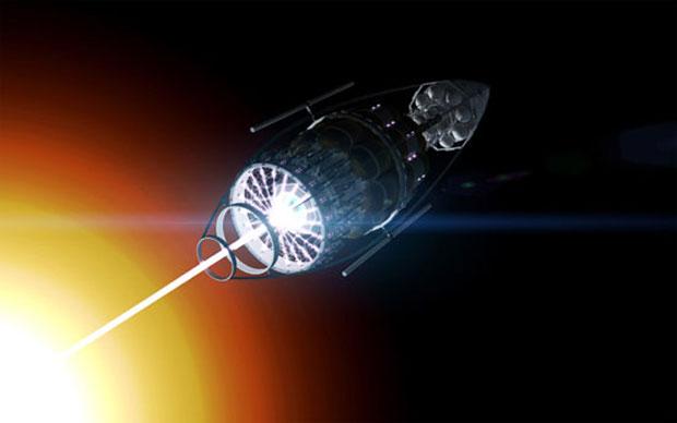 Conceito de nave potencializa as flutuações quânticas para criar energia (Foto: Reprodução) (Foto: Conceito de nave potencializa as flutuações quânticas para criar energia (Foto: Reprodução))