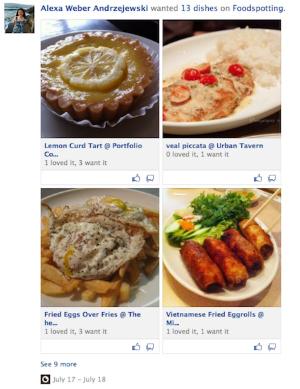 Novo layout do Facebook parece muito o do Pinterest (Foto: Reprodução)