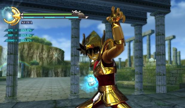 Seiya com armadura de ouro de Pégaso (Foto: Divulgação)