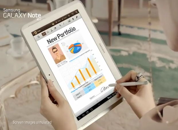 Samsung Galaxy Note 10.1 (Foto: Reprodução)
