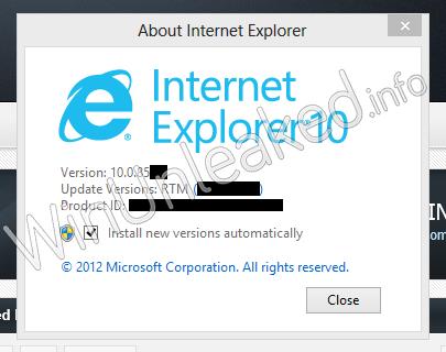 Internet Explorer 10 (Foto: Reprodução)