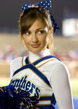 Minka Kelly ficou famosa interpretando cheerleader nos EUA (Foto: Divulgação)