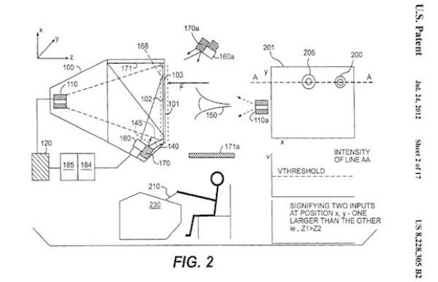 Imagens mostram como seria o funcionamento da tecnologia 5D (Foto: Reprodução)