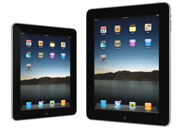 iPad Mini é um pouco menor do que o iPad tradicional (Foto: Divulgação)