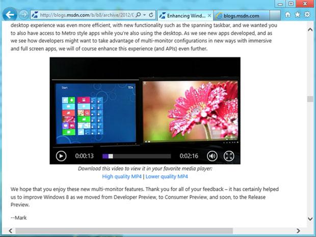 Microsoft adaptou a tecnologia do DirectX para todo o Windows 8 (Foto: Reprodução) (Foto: Microsoft adaptou a tecnologia do DirectX para todo o Windows 8 (Foto: Reprodução))