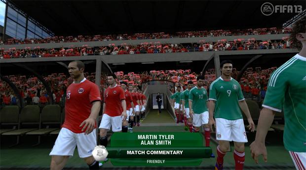 FIFA 13 vai funcionar com o Kinect (Foto: Divulgação)