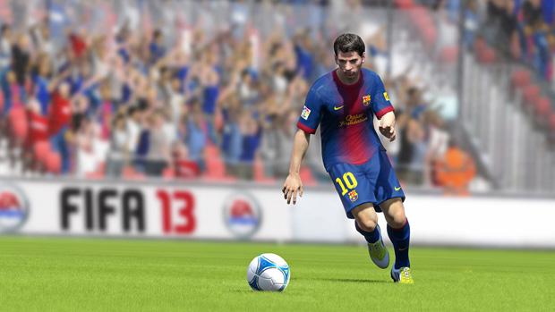 Lionel Messi em FIFA 13 (Foto: Divulgação)