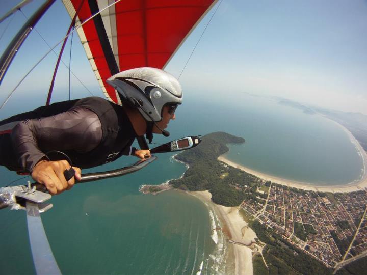 Fotografia tirada com a GoPro HD Hero (Foto: Divulgação)