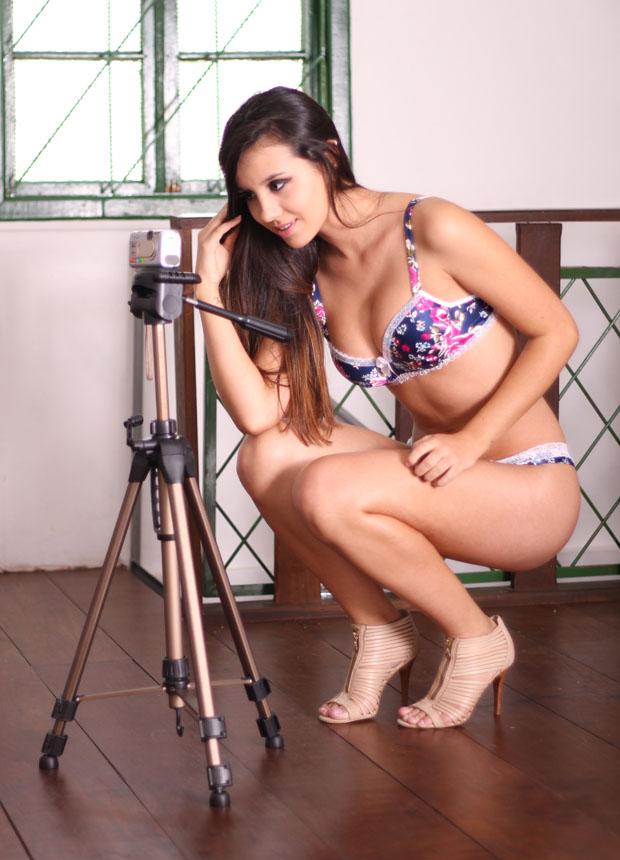 Suély Pedroso participou do #lingerieday a pedido do TechTudo (Foto: Rudi Oliveira)