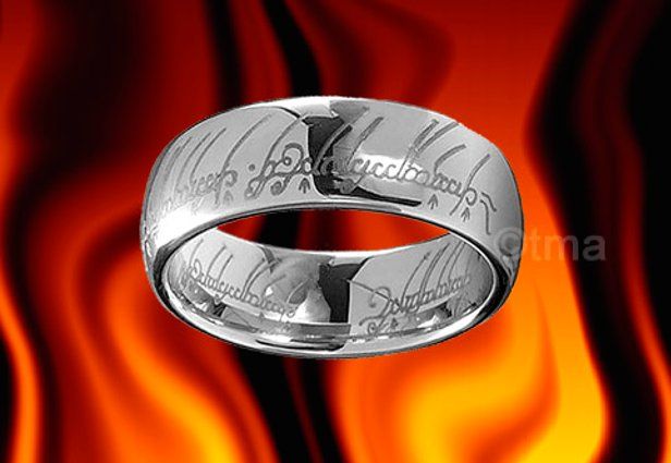 O anel que pode te trazer poderes e riquezas (Foto: Reprodução/eBay)