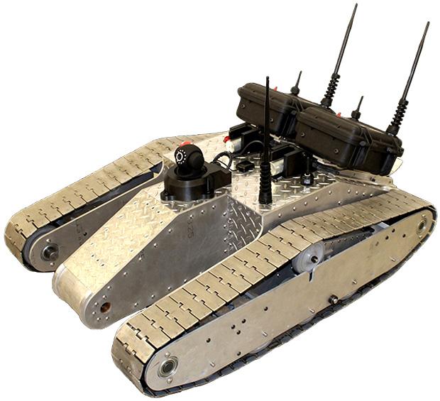 Robô Wi-Fi desenvolvido por estudantes da Universidade de Boston (Foto: Divulgação)