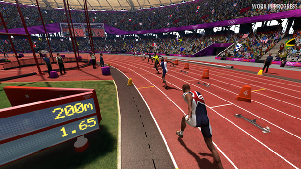 London 2012 - The Official Video Game of the Olympic Games (Foto: Divulgação) (Foto: London 2012 - The Official Video Game of the Olympic Games (Foto: Divulgação))