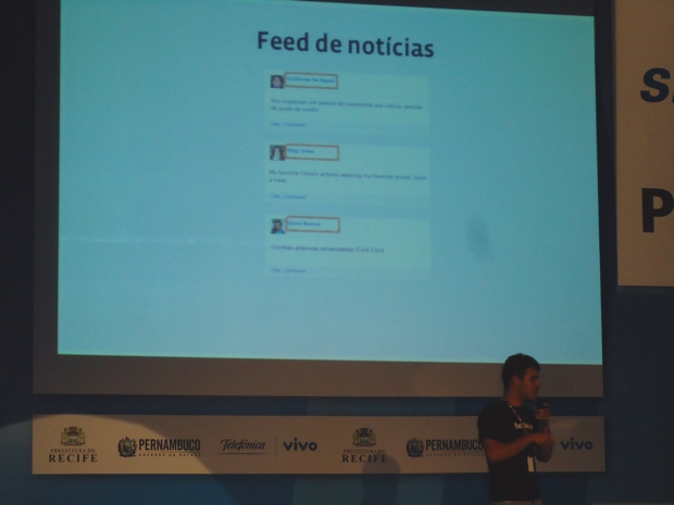 Hackathon com engenheiros do Facebook (Foto: Bernardo Cury / TechTudo)