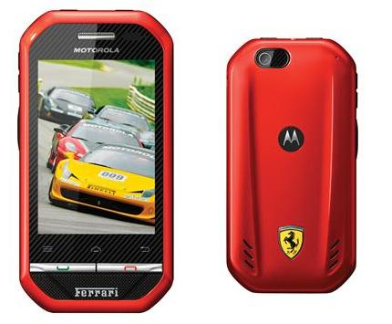 Novo smartphone da Motorola é inspirado na Ferrari e tem PTT (Foto: Divulgação)