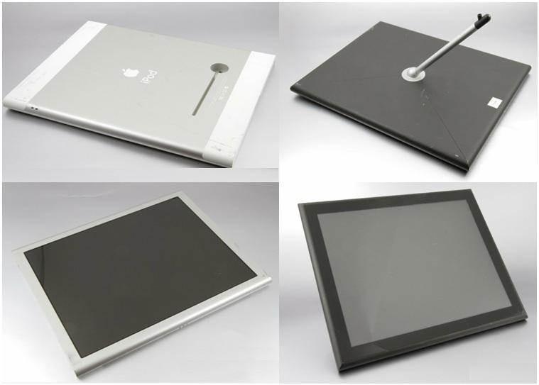 iPad na fase protótipo, quando ainda era chamado de iPod (Foto: Reprodução) (Foto: iPad na fase protótipo, quando ainda era chamado de iPod (Foto: Reprodução))