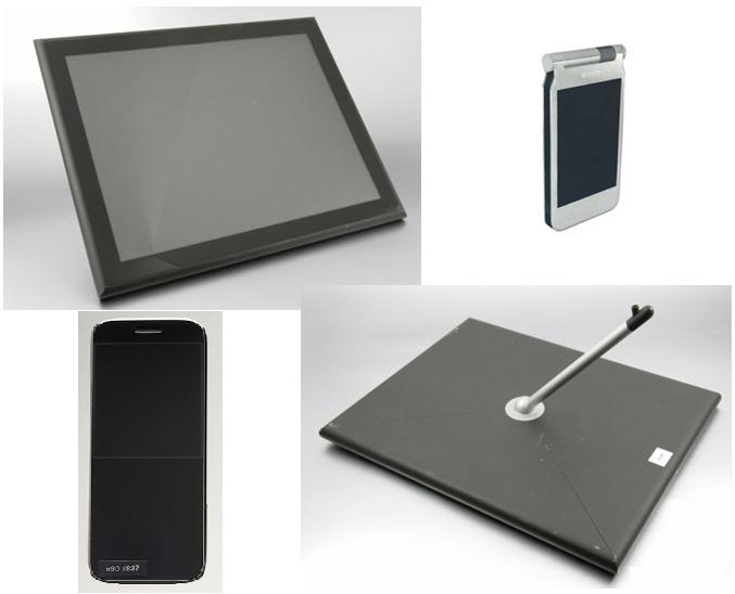 Protótipos de iPad, iPod e iPhone inspirados no design da Sony (Foto: Reprodução) (Foto: Protótipos de iPad, iPod e iPhone inspirados no design da Sony (Foto: Reprodução))