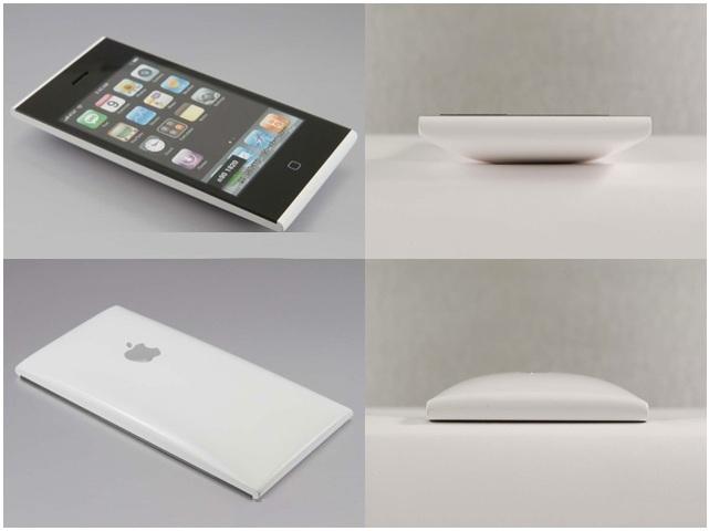 Protótipo de iPhone por Nishibori, a linha Xperia atual da Sony se faz presente nessas imagens (Foto: Reprodução) (Foto: Protótipo de iPhone por Nishibori, a linha Xperia atual da Sony se faz presente nessas imagens (Foto: Reprodução))