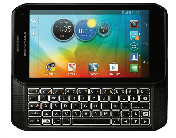 Photon Q com teclado QWERTY é aposta da Motorola (Foto: Divulgação)