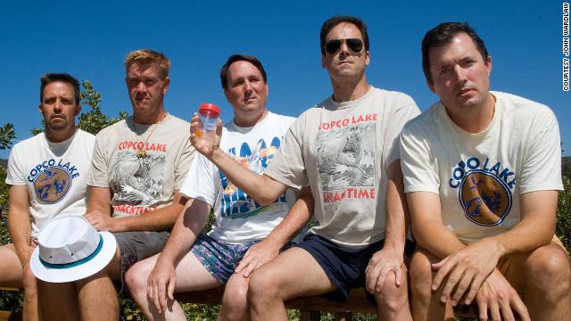 Grupo com aproximadamente 44 anos em foto de 2007 (Foto: Reprodução)