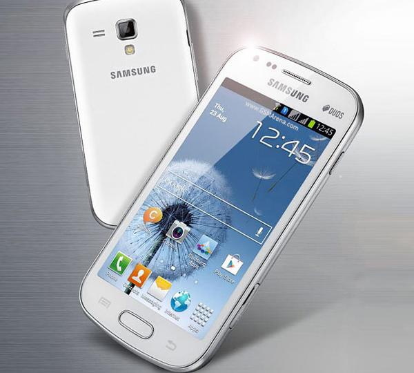 O Galaxy S Duos. O novo dual-chip da Samsung (Foto: Reprodução)