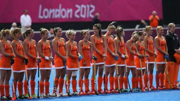 Seleção feminina de hóquei na grama da Holanda ganha destaque na web (Foto: Reprodução)