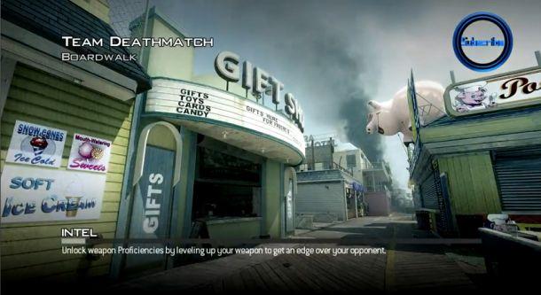 Novo mapa Boardwalk, para Modern Warfare 3 (Foto: Divulgação)