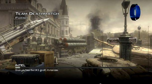 Novo mapa Parish, para Modern Warfare 3 (Foto: Divulgação)
