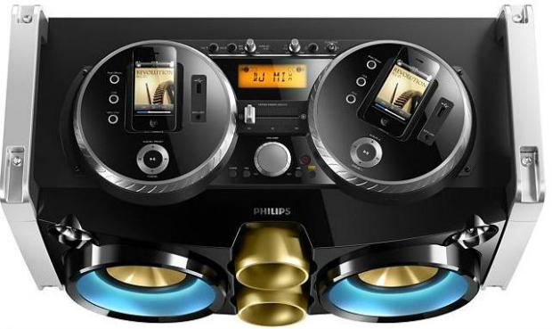 Boombox da Philips faz você se tornar um DJ com seu iPhone (Foto: Divulgação)