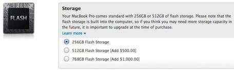 Capacidade de armazenamento do novo Macbook pode ser expandida (Foto: Reprodução)