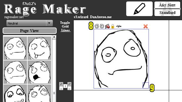 Editando o meme da forma que desejar (Foto: Reprodução)