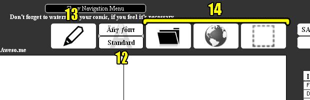 Escolhendo a cor do texto, tamanho da letra, alinhamento, transparência e cor de fundo (Foto: Reprodução)