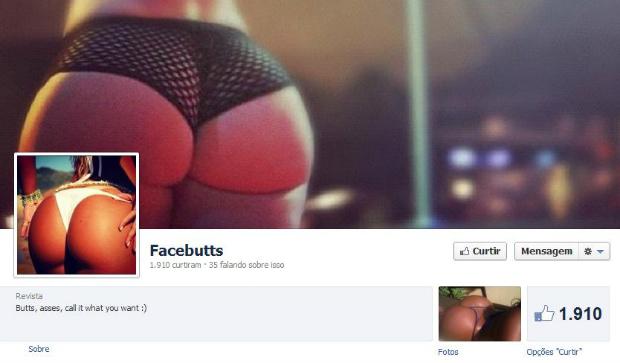 Facebutts compila melhores bumbuns da web (Foto: Reprodução)