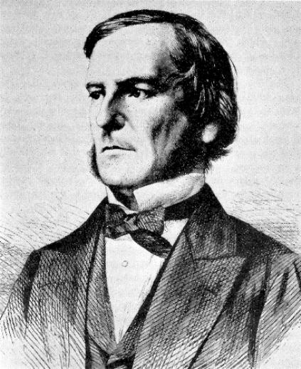 George Boole (imagem da Wikipedia)