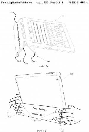 Smart Cover com possível tela touchscreen na parte externa (Foto: Reprodução)