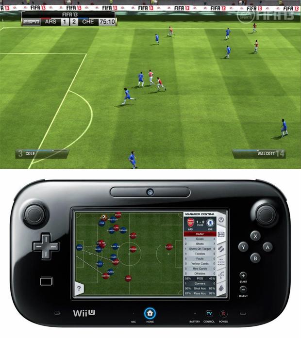 FIFA 13 no Wii U (Foto: Divulgação)