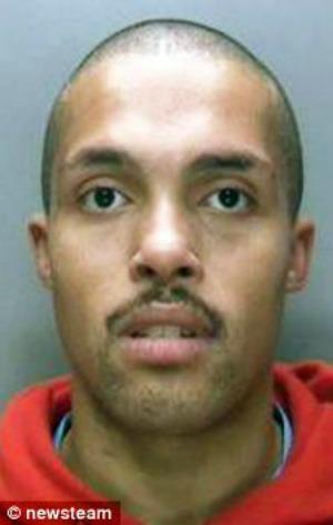 Agressor foi preso após ser identificado no Facebook (Foto: Reprodução)